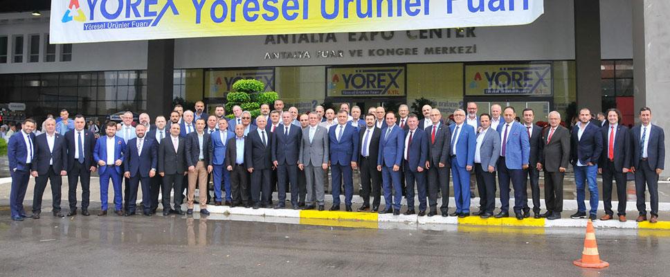Antalya YÖREX Fuarı'na Samsun damgası
