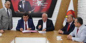 Havza Belediyesi İle BEM-BİR-SEN İmzaları Attı