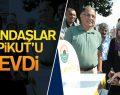 VATANDAŞLAR AYPİKUT'U SEVDİ