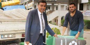 Havza Belediyesi Sıfır Atık Projesine Uyuyor