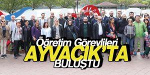 Öğretim Görevlileri Ayvacık'ta Buluştu