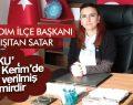 İYİ parti İlkadım İlçe Başkanından 24 Kasım Mesajı