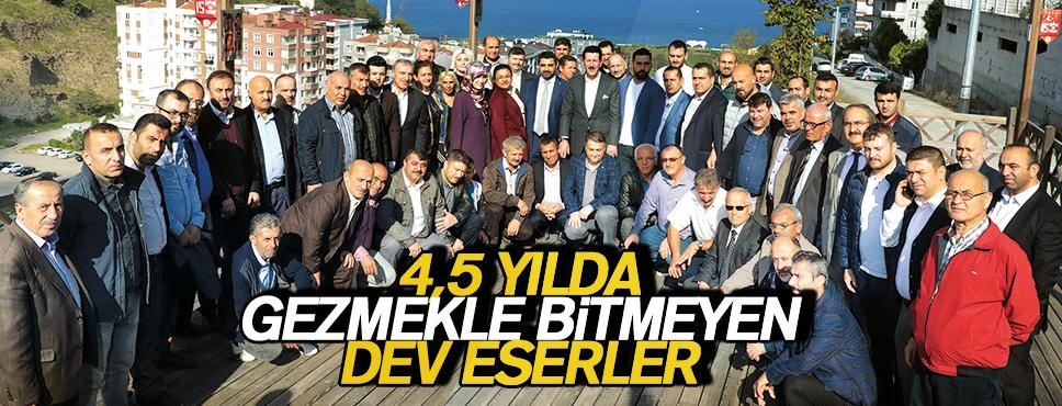 İLKADIM'I MARKA YAPAN ESERLER GEZİLDİ