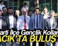 AK Parti İlçe Gençlik Kolları Ayvacık'ta Kahvaltı Yaptı
