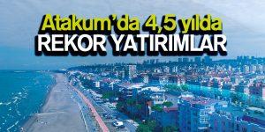 Atakum'da 4,5 yılda rekor yatırımlar