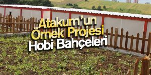 Atakum'un Örnek Projesi Hobi Bahçeleri