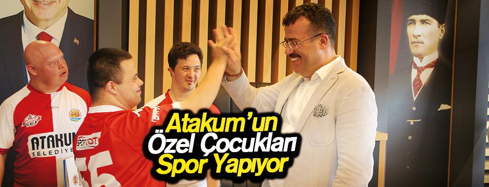 Atakum'un Özel Çocukları Spor Yapıyor