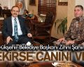 BAŞKAN ŞAHİN 'GEREKİRSE CANINI VERİR'