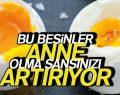ANNE OLMA ŞANSINI ARTIRAN BESİNLER