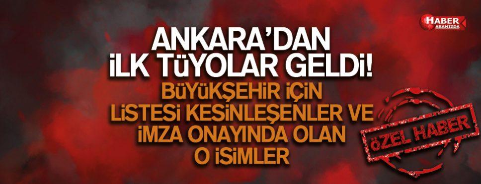 AK Parti Büyükşehir Listelerinde Kimlerin Adı Yer Aldı