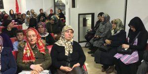 MHP'li Kadınlardan Atatürk için Kuran Tilaveti