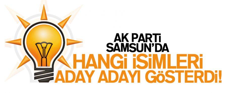 Samsun AK Parti'de Aday Adayı Listesi Açıklandı