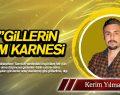 'TOK'GİLLERİN İLKADIM KARNESİ