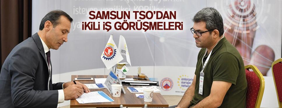 Samsun TSO, işbirliği için buluşturdu