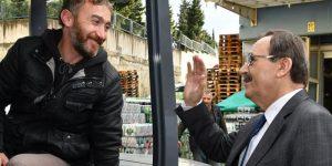 Başkan Şahin Gıda Borsası esnafını ziyaret etti