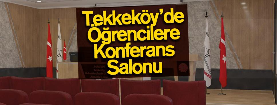 Togar'dan Öğrencilere Konferans Salonu