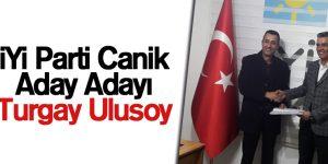 İYİ Parti Canik Aday Adayı Turgay Ulusoy