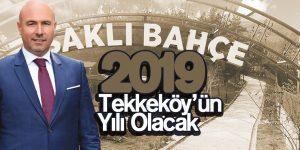 2019 Tekkeköy'ün Yılı Olacak