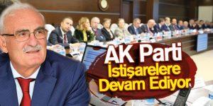 AK Parti İstişarelere Devam Ediyor