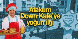 Atakum Down Kafe'ye yoğun ilgi