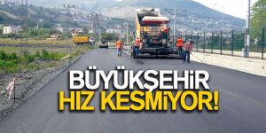 Samsun'da milyon liralık yatırımlar devam ediyor