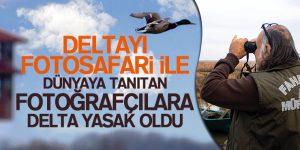 Fotoğrafçılara Kızılırmak Kuş Cenneti Yasak Mı Oldu