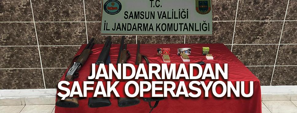 JANDARMADAN ŞAFAK OPERASYONU