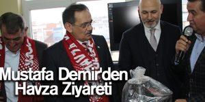 Mustafa Demir'den Havza Ziyareti
