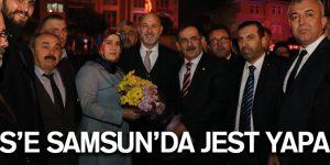 REİSİ'E SAMSUN'DA JEST YAPALIM