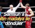 Boks Türkiye Şampiyonu İlkadım'dan