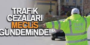 TRAFİK CEZALARI MECLİS GÜNDEMİNDE!