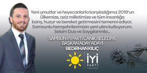Samsun İYİ Parti Canik Belediye Başkan Aday Adayı Bedirhan Kılıç