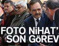 Bafra'nın Foto Nihat'ına son görev