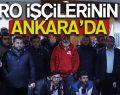 Samsun MAKRO İşçisinden Ankara Çıkarması