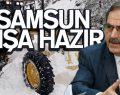 Samsun Büyükşehir Belediyesi 'KIŞ'a hazır!