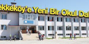 Tekkeköy'e Yeni Bir Okul Daha