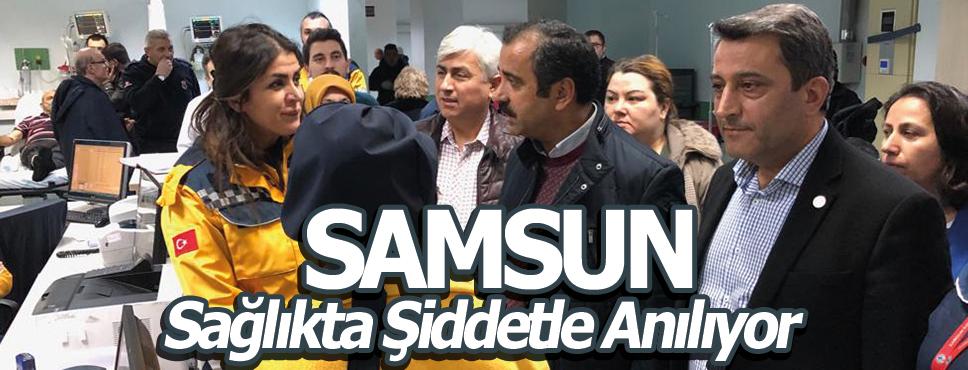 Samsun'da yine Sağlıkta Şiddet Vakası