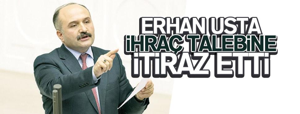 Erhan Usta Disiplin Kararına İtiraz Etti