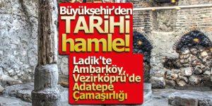 Büyükşehir'den TARİHİ hamle!