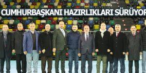 Mustafa Demir, hazırlıkları yerinde inceledi