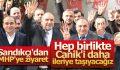 Sandıkçı'dan MHP'ye ziyaret