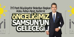 Alper Aydemir 'Önceliğimiz Samsun'