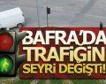 Bafra'da Trafik Siteminin Seyri Değişti