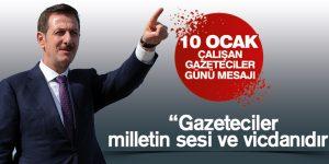 Başkan Tok'tan 10 Ocak Mesajı