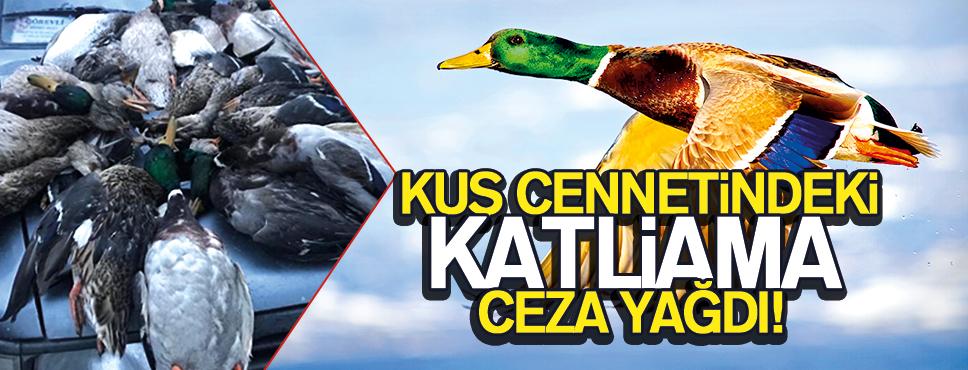 Kuş Cennetinde Ördek Katliamı'na Ceza!