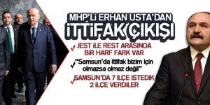 Erhan Usta'dan İttifak Çıkışı