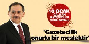 Mustafa Demir Gazetecilik onurlu bir meslektir