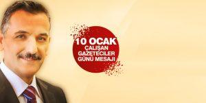 Samsun Valisi Osman Kaymak'tan 10 Ocak Mesajı
