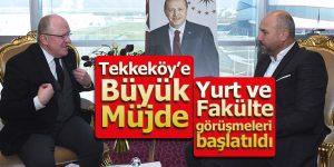Cumhurbaşkanından Tekkeköy'e Büyük Müjde