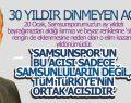 Samsun Valisi Osman Kaymak 20 Ocak'ı Unutmadı